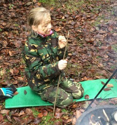 Bushcraft adventures in Worcestershire - for school children