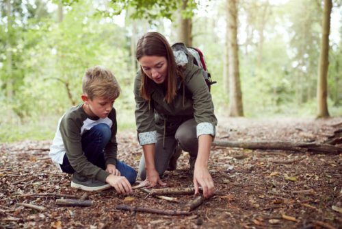 Bushcraft adventures in Worcester - for families