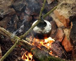 Bushcraft adventures in Worcestershire - Camp fires